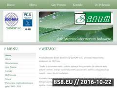 Miniaturka domeny sanum.org.pl