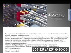 Miniaturka domeny www.saptel.pl