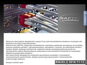 Zrzut strony Sieci strukturalne, centrale telefoniczne