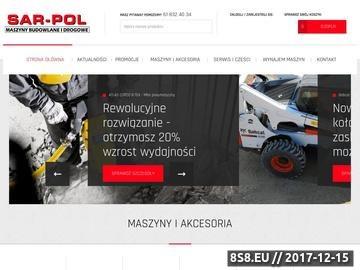 Zrzut strony Zagęszczarki hydrauliczne od Sar-Pol.