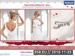 Miniaturka domeny www.sara.tm.pl