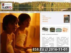 Miniaturka domeny www.saunahurt.pl