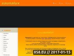 Miniaturka domeny www.saunalux.pl