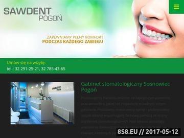 Zrzut strony Dentysta Sosnowiec