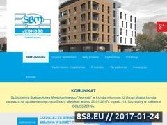 Miniaturka domeny www.sbmjednosc.com.pl