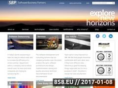 Thumbnail of SBP Romania Website