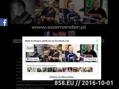 Miniaturka domeny www.scamander.pl