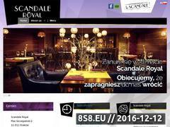 Miniaturka domeny scandale.pl