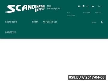 Zrzut strony Transport - Scandinavian.com.pl