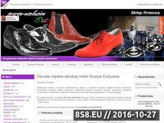 Miniaturka domeny www.scarpe-esclusive.pl