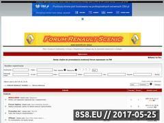 Miniaturka domeny www.scenicforum.cba.pl