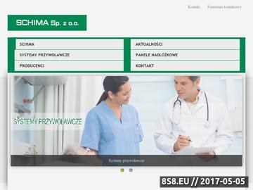 Zrzut strony SCHIMA Wrocław Analogowy system przywoławczy
