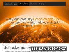 Miniaturka domeny schockemoehle-sports.pl