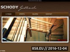 Miniaturka domeny www.schody-lodz.com.pl