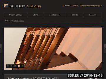 Zrzut strony Schody z Klasą - Schody Gdańsk
