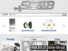 Miniaturka domeny scorab.pl