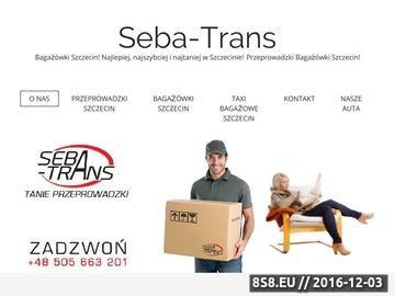 Zrzut strony Przeprowadzki Szczecin