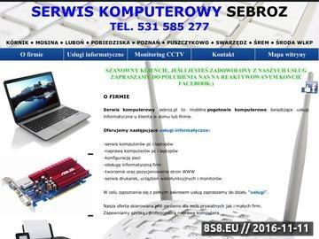 Zrzut strony Naprawa Komputerów Serwis Komputerowy Poznań Borówiec Śrem