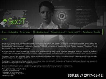 Zrzut strony Usługi informatyczne Trójmiasto - bezpieczeństwo IT, Monitorig CCTV - Gdańsk, Gdynia