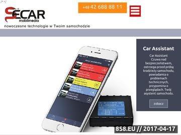 Zrzut strony Secar Mobilmedia - systemy klimatyzacji