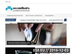 Miniaturka domeny www.secondhairs.pl