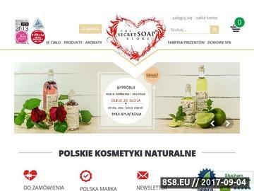 Zrzut strony Naturalne kosmetyki