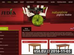 Miniaturka domeny www.sedia.pl