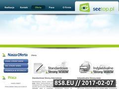 Miniaturka domeny www.seetop.pl