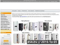 Miniaturka domeny www.sejfy.sklep.pl