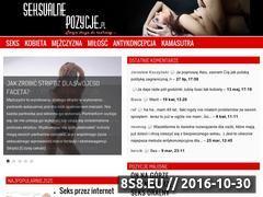 Miniaturka domeny seksualnepozycje.pl