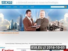 Miniaturka domeny www.selkod.com.pl