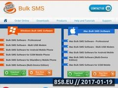 Thumbnail of SMS software Website
