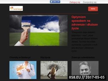 Zrzut strony Senior.pl - lifestajlowy serwis dla ludzi po czterdziestce