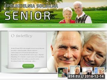 Zrzut strony Wieczorki taneczne oraz spotkania dla seniorów