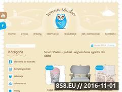 Miniaturka domeny senna-sowka.pl