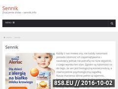 Miniaturka domeny www.sennik.info