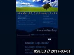 Miniaturka domeny sennik24.eu