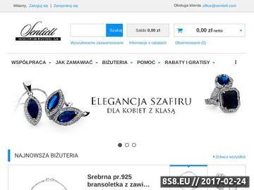 Zrzut strony Hurtownia biżuterii, pierścionki, kolczyki