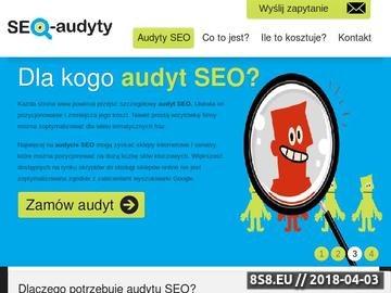 Zrzut strony SEO Audyt