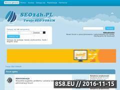 Miniaturka domeny seo24h.pl