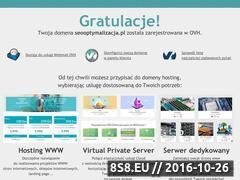 Miniaturka domeny www.seooptymalizacja.pl