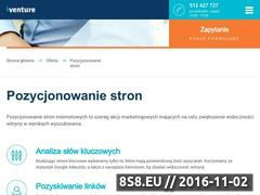 Miniaturka domeny seoventure.pl