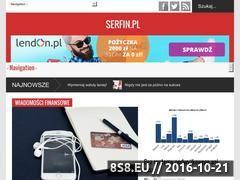 Miniaturka domeny www.serfin.pl