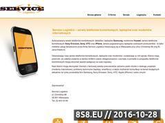 Miniaturka domeny www.servicelogistics.pl