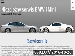 Miniaturka domeny www.servicemile.pl