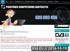 Miniaturka domeny www.serwis-bartoszyce.pl