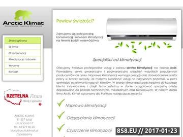 Zrzut strony Serwis klimatyzatorów Łódź