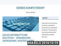 Miniaturka domeny serwis-komputerowy.slask.pl