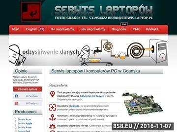 Zrzut strony Naprawa laptopów Wrocław. Serwis Laptopów Wrocław czyli naprawa komputerów.