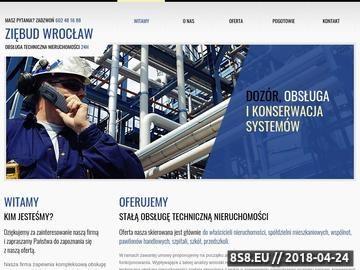 Zrzut strony Pogotowie elektryczne Ziębud Wrocław